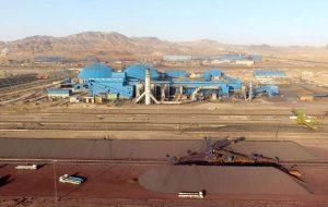 ثبت بالاترین رکوردهای تولید ماهانۀ گندله و حمل ریلی در فولاد سنگان