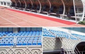 ورزشگاه امام رضا آماده ی میزبانی