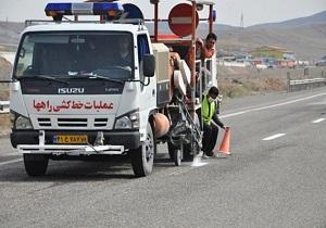 خط کشی ۴۸ کیلومتر از محورهای مواصلاتی شهرستان نیر