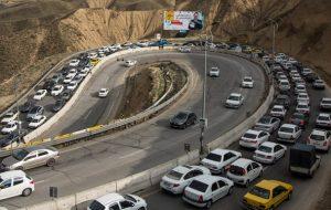 اعمال محدودیتهای ترافیکی پایان هفته در جادههای شمال/ترافیک در هراز