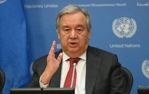 گوترش: الحاق کرانه باختری تهدیدی برای پیشبرد صلح در منطقه است