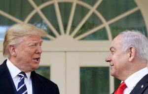 کاخ سفید بررسی طرح الحاق کرانه باختری را آغاز کرد