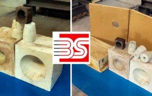 کاهش هزینه ارزی و شکوفایی دانش فنی در مجتمع فولاد صنعت بناب با بومی سازی قطعات