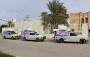 آبگرمکن های اهدایی بانک رفاه کارگران به شهروندان سیل زده بوشهری