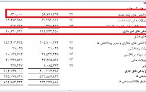 (افزایش ۵۰۰ درصدی بدهی های غیر جاری صنایع پتروشیمی خلیج فارس