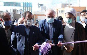 دبیرستان دخترانه شهدای بانک رفاه کارگران دهستان منجیل آباد شهرستان رباط کریم افتتاح شد