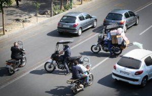 قانونشکنیهای موتورسواران