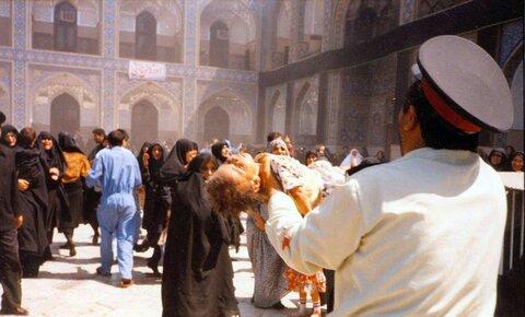 متهمین و قربانیان بمب گذاری در حرم امام رضا