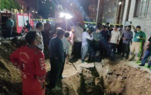 نجات ۲۹ اتباع افغانستانی از حفره چاهی در کرمان